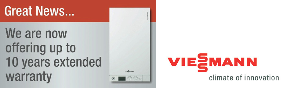 Extended Warranty on many boilers